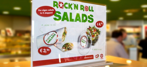 Rock 'n Roll salads - Texaco