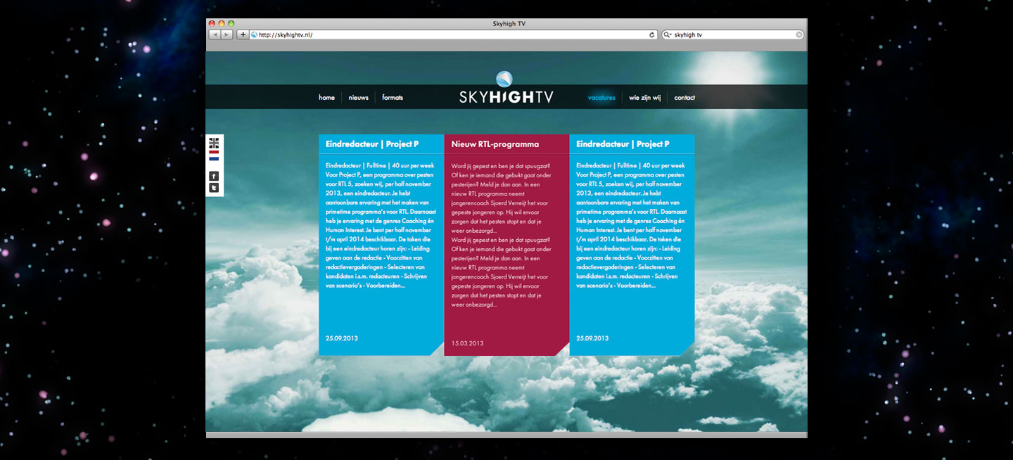 Website - Skyhigh TV